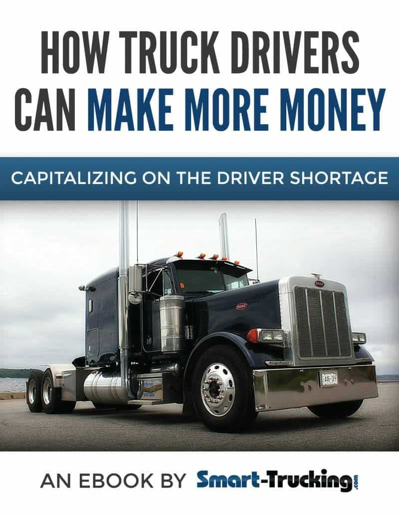 eBook Cover Big Peterbilt 379 Blue