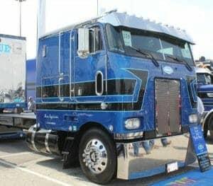 peterbilt cabover mats truck show