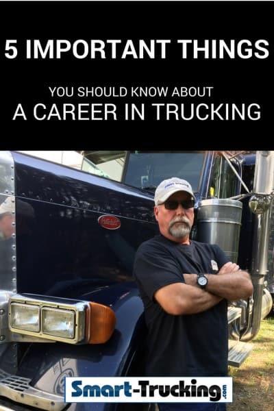 Truck Driver Standing beside Peterbilt Truck