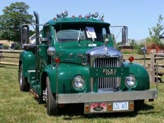 1956 Green B61 Mack Truck