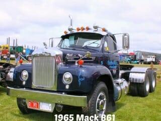 1965 Blue B61 Mack Truck Thermodyne