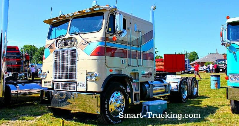 The Only Old School Cabover Truck Guide You'll Ever Need