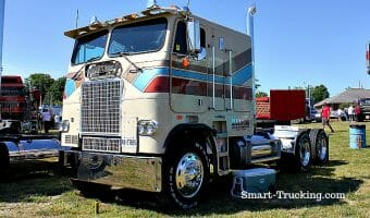 Memories And Photos Of Old Cabover Trucks