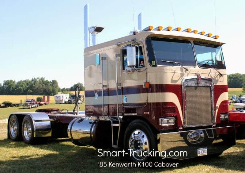 1985 Kenworth K100 Cabover Truck