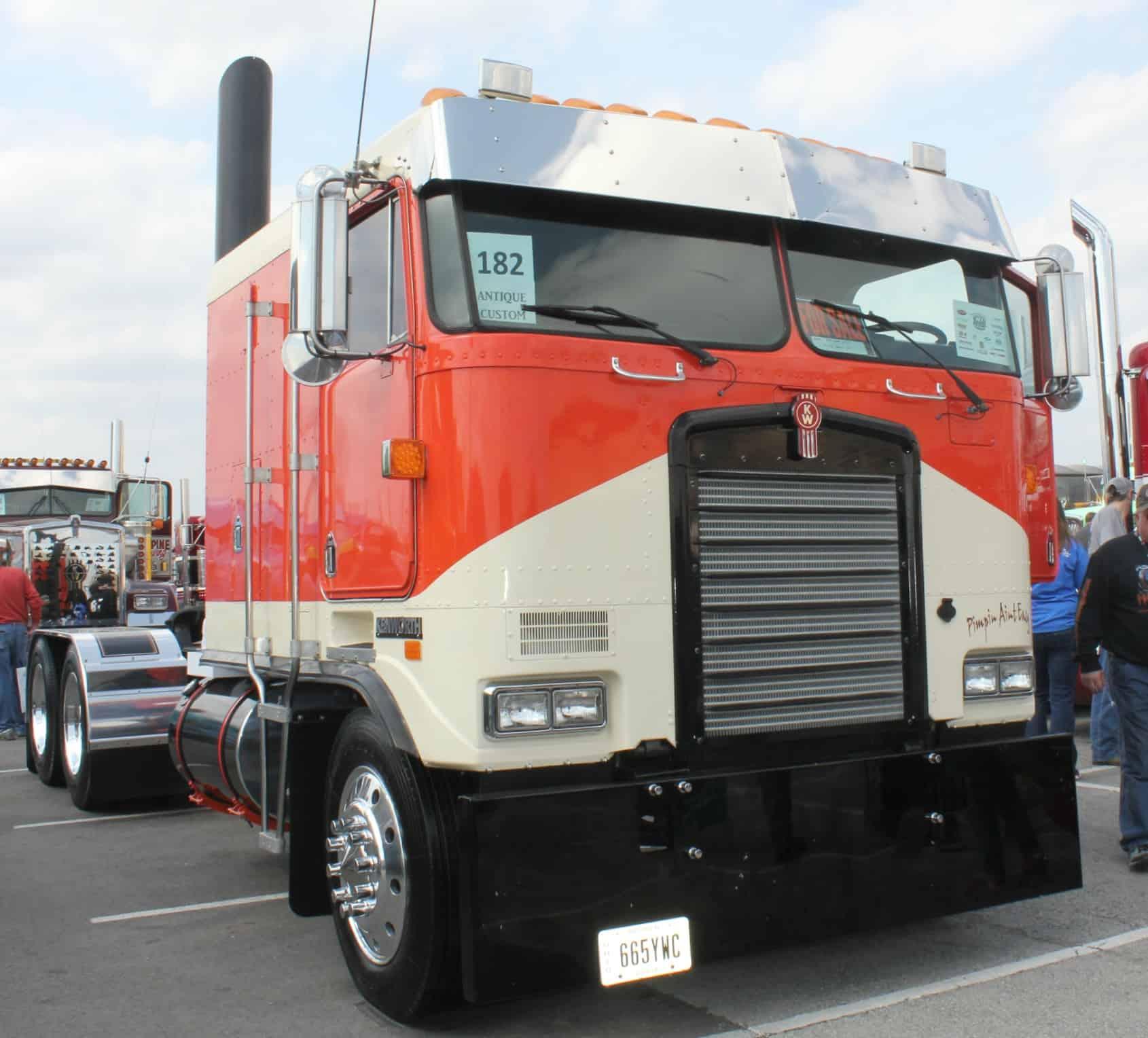 Kenworth Cabover Custom Truck