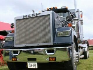 Blue Mack Superliner Truck