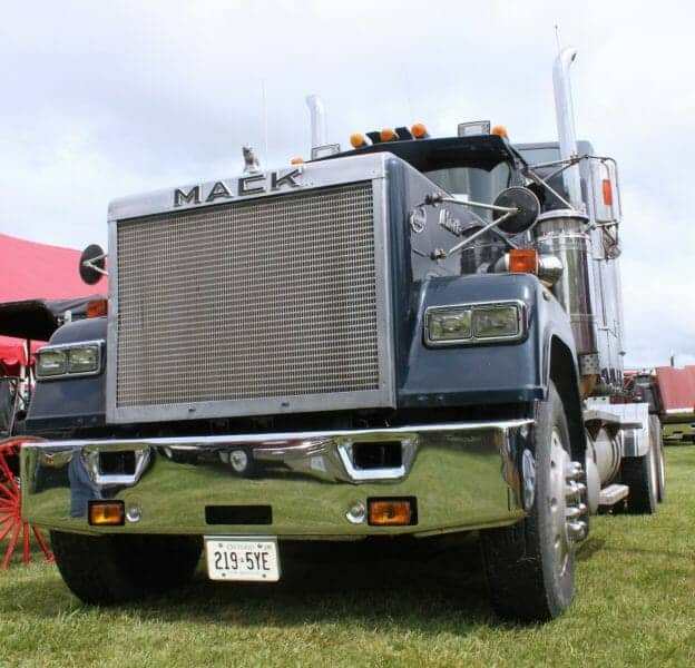 Blue Mack Superliner Truck