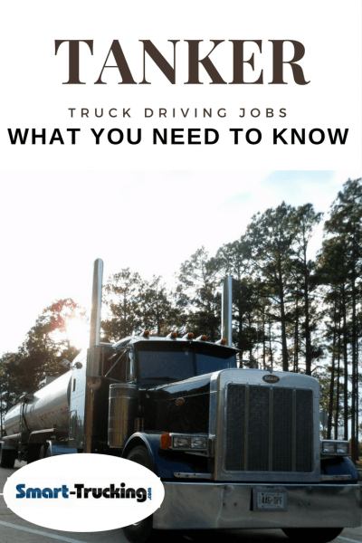 Tanker Truck Driving Jobs What You Need to Know