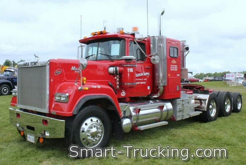1992 Red Superliner Model Mack