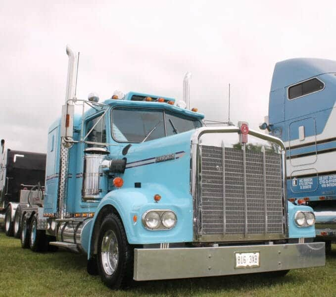 1980 Kenworth W900A Light Blue