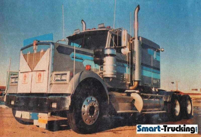 1984 Kenworth W900B Old Canyon Truck