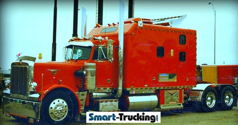 big truck sleepers come back to the trucking industry. Black Bedroom Furniture Sets. Home Design Ideas