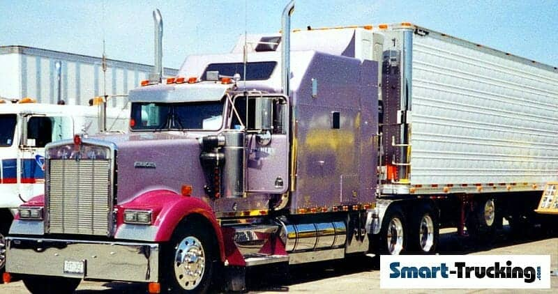 1994 Kenworth W900B Custom Big Sleeper