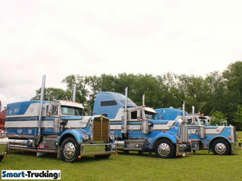 Kenworth Peterbilt Big Sleeper Custom Trucks