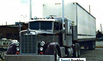Old Needlenose Kenworth Gray Purple
