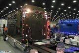 Peterbilt Black Custom 389 Sleeper Berth Truck