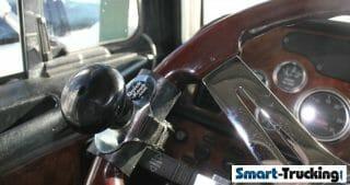 Steering Wheel Spinner Knob for Big Rig Truck