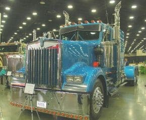 1983 Kenworth W900 Custom Blue Truck