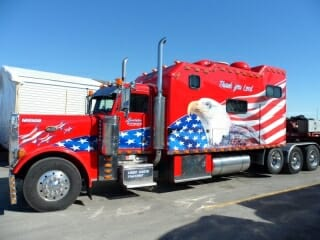 All American Peterbilt 379 Big Custom Sleeper Berth