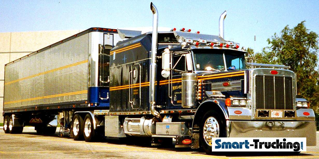 Older Model Peterbilt 379 Custom Sleeper