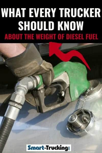 Weight Of Diesel Fuel What Every Trucker Should Know