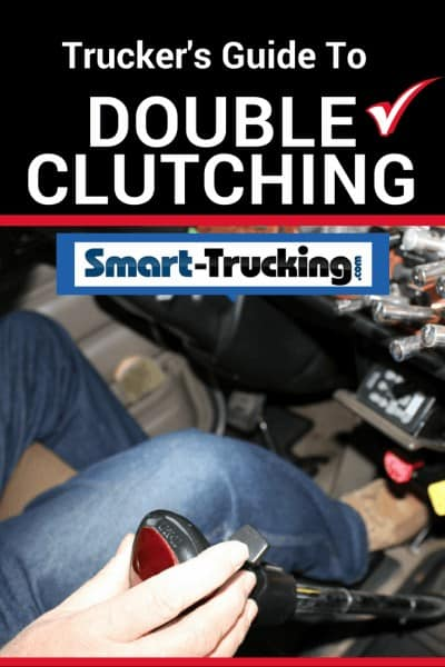 Truck Driver Double Clutching