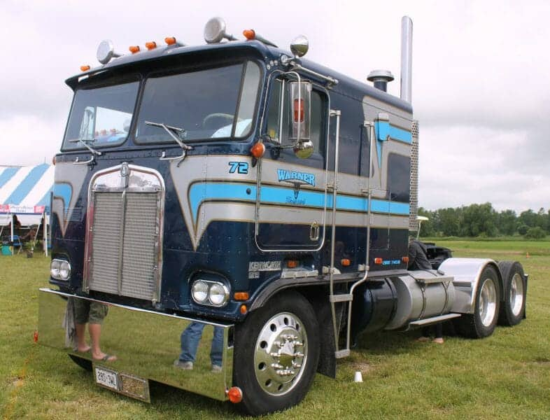 1972 Old Kenworth Cabover Truck