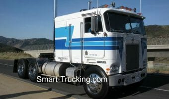 Kenworth Cabover Photo Gallery – Classic Big Rigs