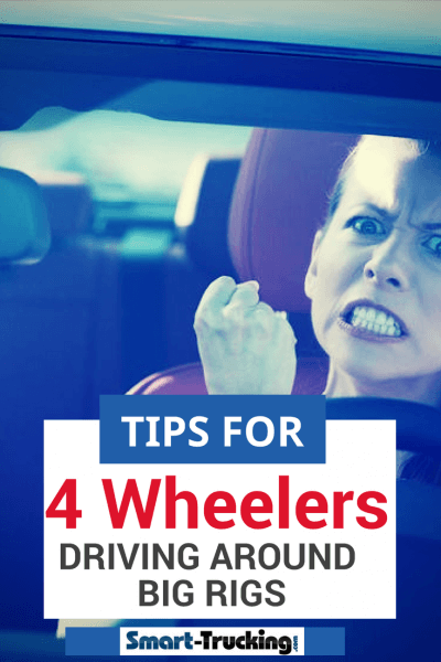 Tips For Four Wheelers For Driving Around Big Rigs