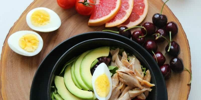Bowl of Healthy Foods