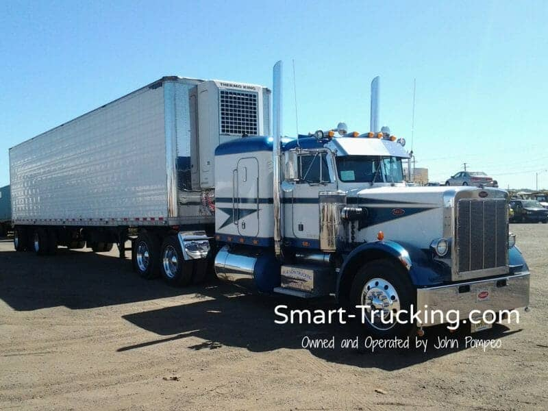 1987 Peterbilt 359 Numbered Truck