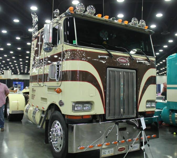 The Peterbilt Cabover Truck Photo Collection You Need To See!