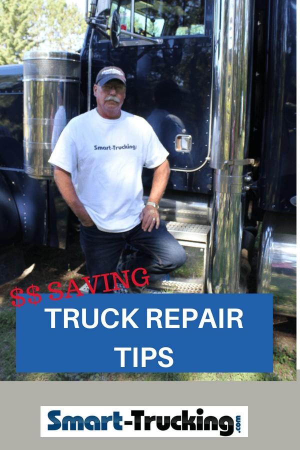 $$ Saving Semi Truck Repair Tips