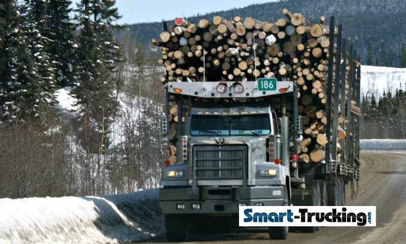 Western Star Logging Truck Manual Loaded
