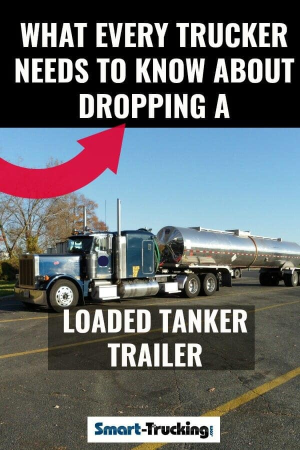 Peterbilt Big Rig Truck with Double Tanker Trailers