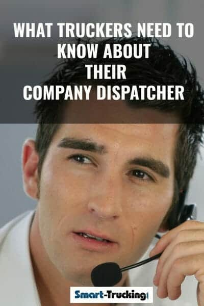 Dispatcher on headset phone at trucking company