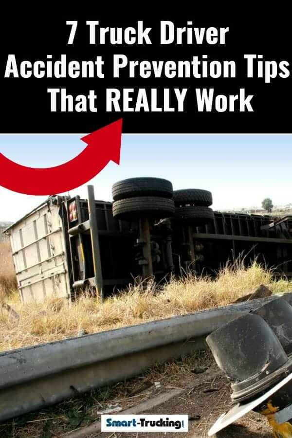 Big rig rolled over off the road