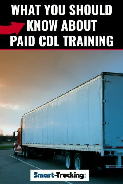 what you need to know about paid cdl training