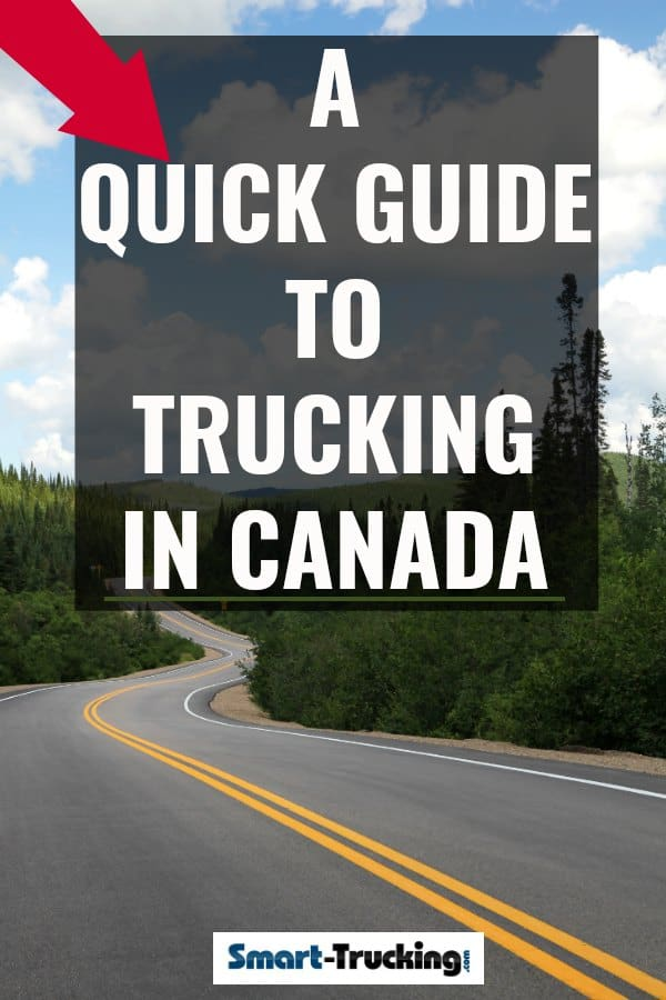 A quick Guide to the State of Truck Driving in Canada