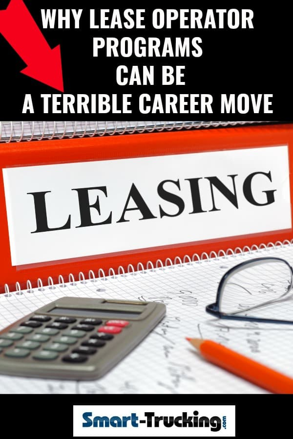 Why Lease Operator Programs can be a Terrible Career Move