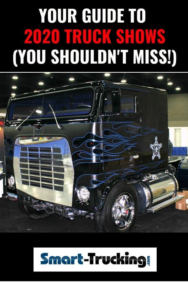 Black Cabover Truck