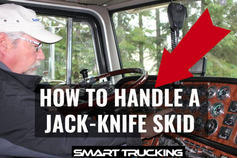 HOW TO HANDLE A JACK KNIFE SKID