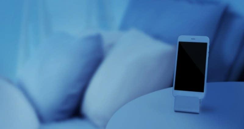 Smart phone with sleep app