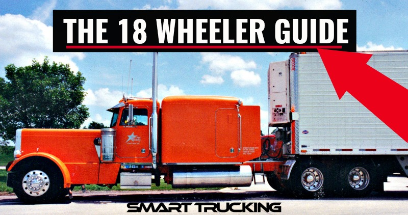 Long hood Peterbilt 359 Semi Truck