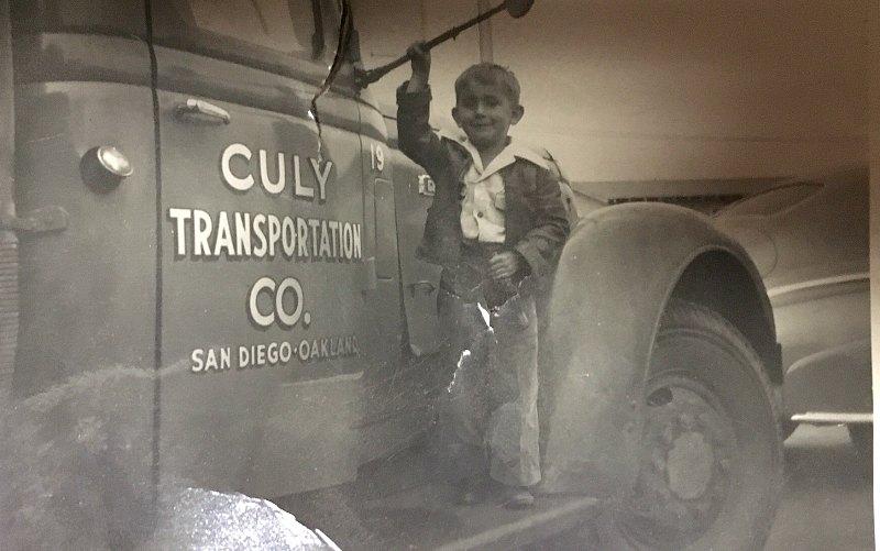 1942 Frank Culy- Culy Transportation co SanDiego CA