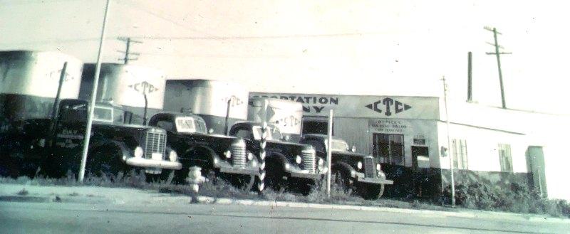 Culy Transportation CoThe Fleet - Old Semi Trucks