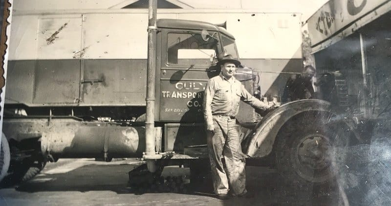 Driver Mechanic Pappy Drane Culy Transportation Co