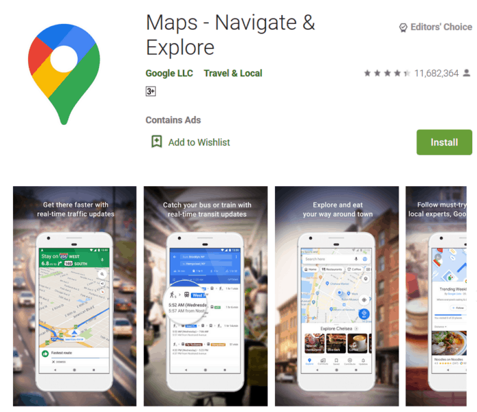 Google Maps - Best App For the Truck Driver