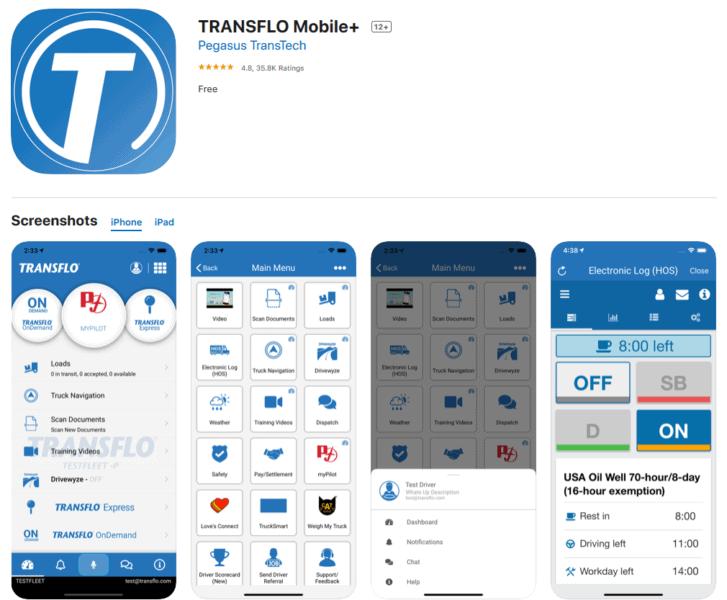 Tranflo Mobile + App Helpful For the Trucker