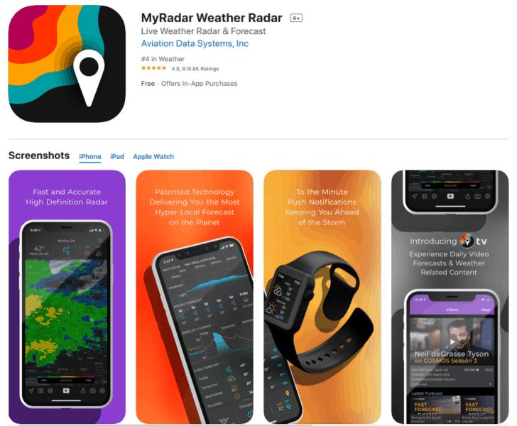 My Radar Weather Radar